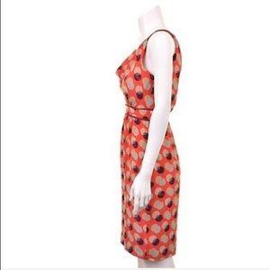 Moulinette Soeurs Dresses - Moulinette Soeurs Silk Here & There Dot Red Dress
